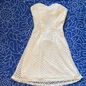 White Charlotte Russe dress